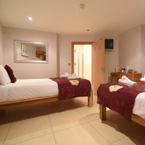 Eyre Square Townhouse Galway bedroom 1