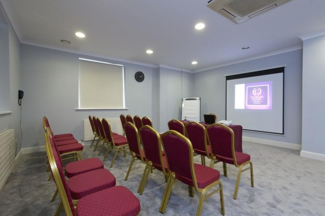 The Clybaun Hotel conference room