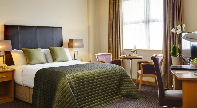 The Harbour Hotel Galway bedroom