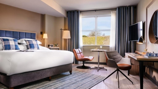 The Harbour Hotel Galway double bedroom
