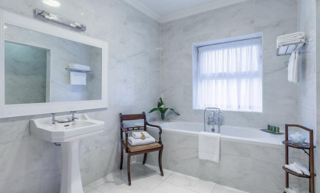 glenlo abbey marble bathroom