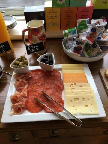 Carraigdun B&B Claregalway breakfast