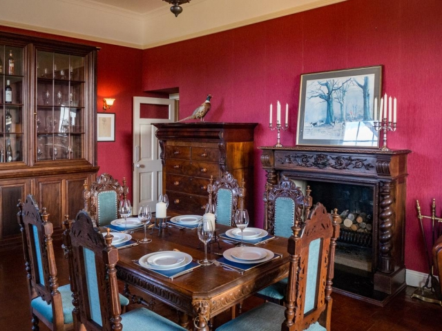 Kill House Clifden dining room