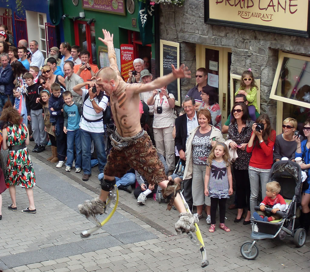 Macnas at Thhe Galway Arts Festival