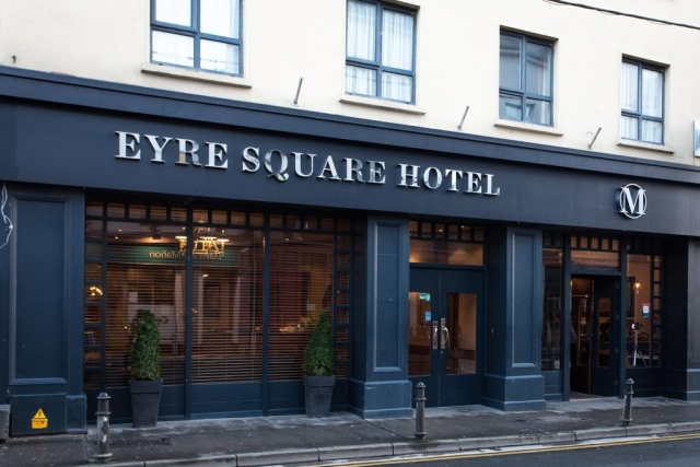Eyre Square hotel near Galway Train Station