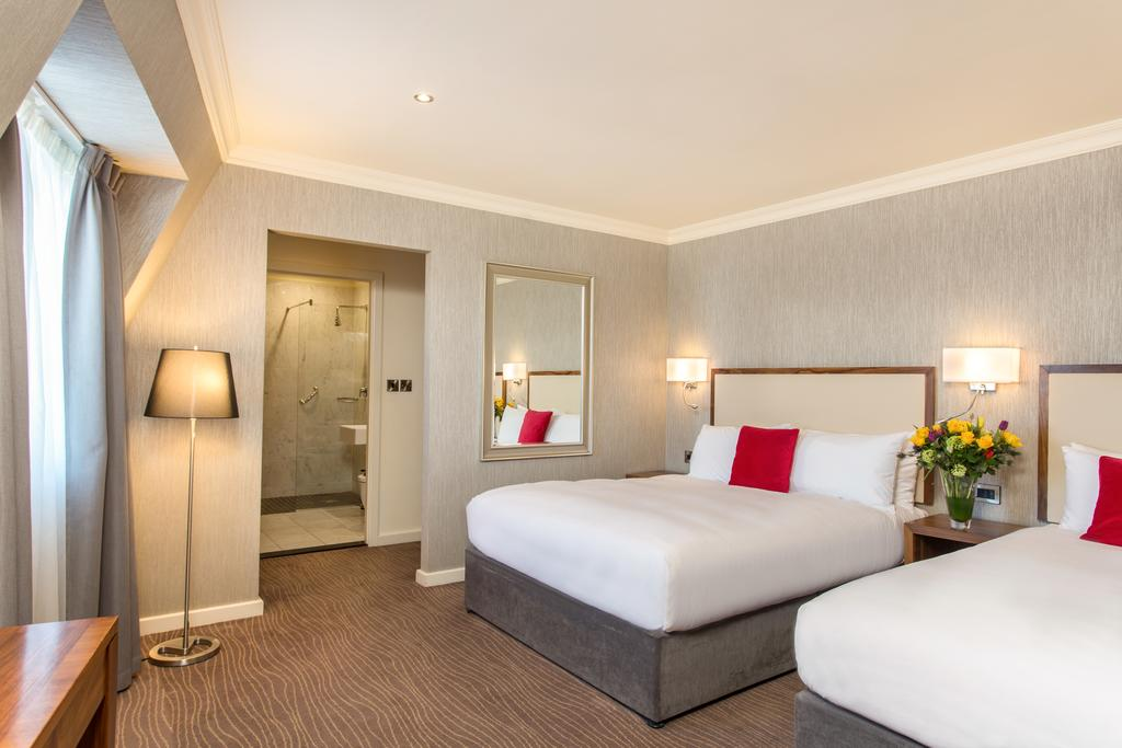 bedroom at eyre square hotel