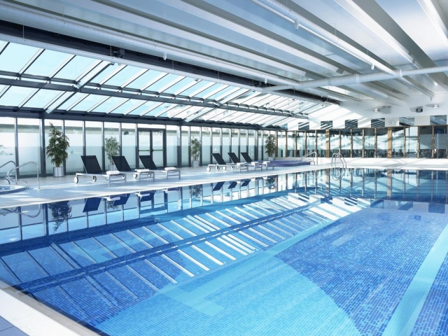 ballinasloe swimming pool at Shearwater Hotel and Spa