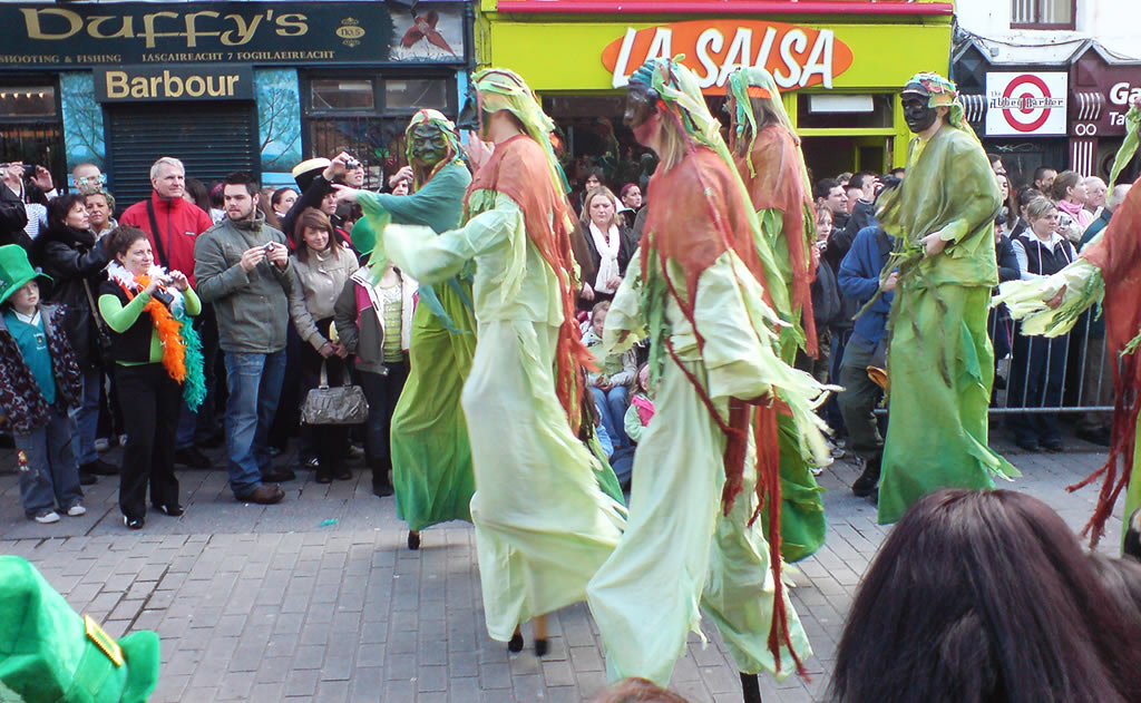 St. Patricks Day in Galway 2020