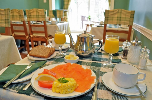 breakfast at Ash Grove B&B Galway