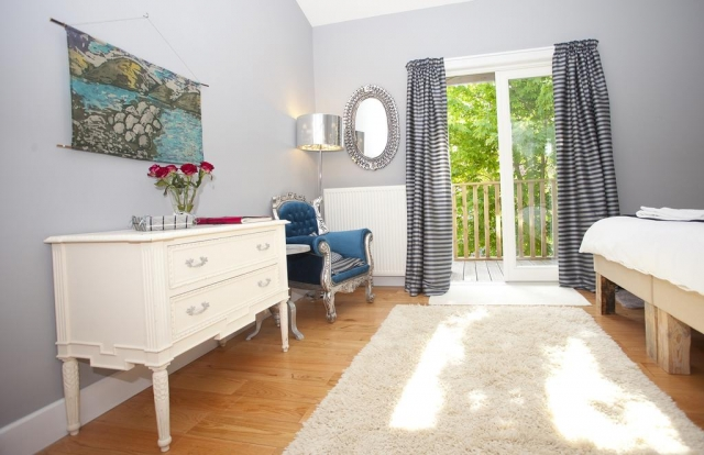 Slieve Aughty eco friendly hotel bedroom 3