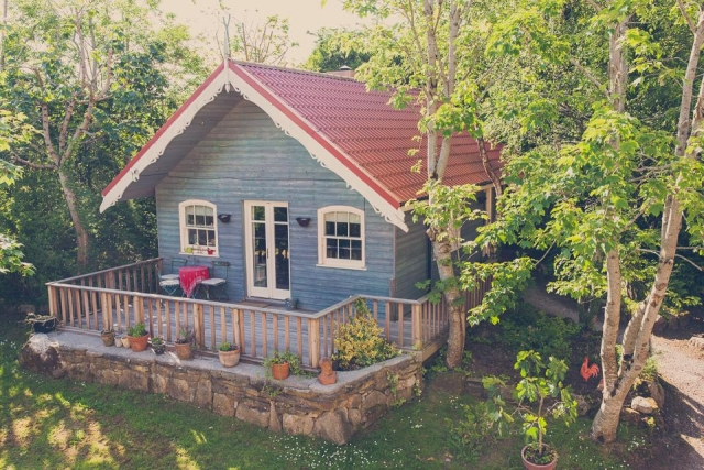Slieve Aughty eco friendly chalet in loughrea